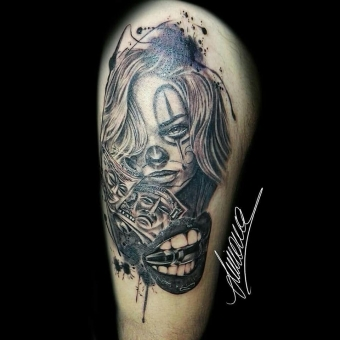 Tattoo by Simona